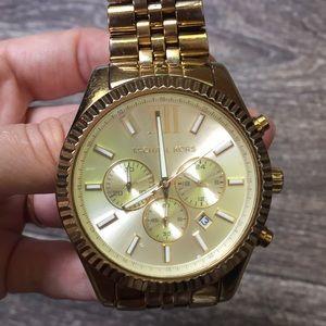 Michael Kors Accessories - Michael Kors gold stainless steel watch